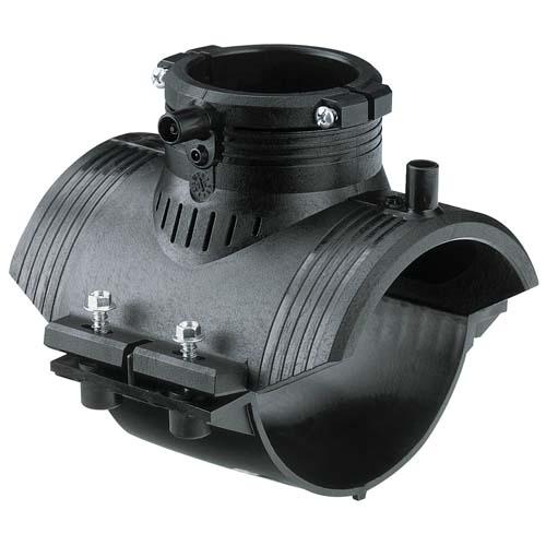 Седловой отвод (переходный седелочный отвод) SDR 11 PE 100 PN 10* 493804